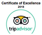 TripAdvisor Certificate of Excellence badge for Narooma Charters, Montague Island Tours